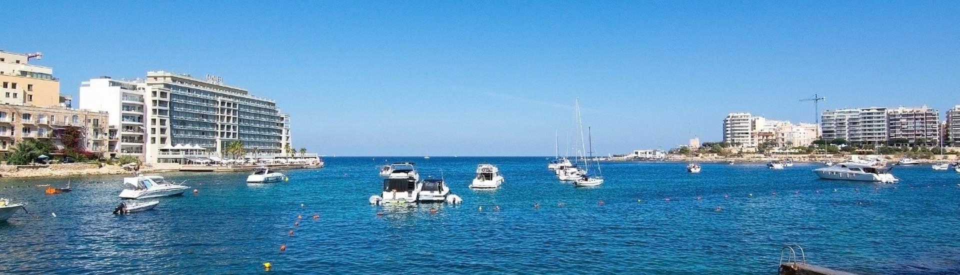 Englisch Familiensprachreisen Spinola Bay, Malta