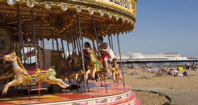 Englisch Familiensprachreise Brighton, England