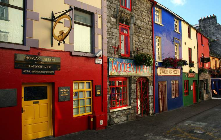 Escuela de inglés en Galway, Irlanda