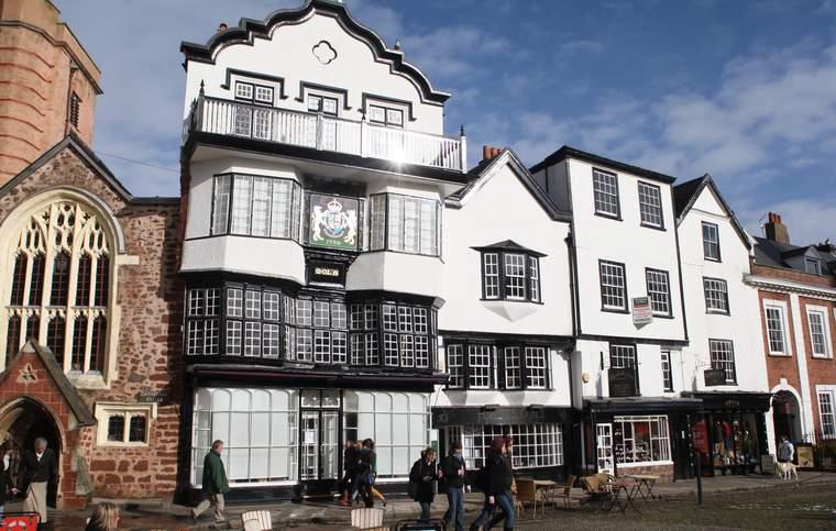 Escuela de inglés Exeter, Inglaterra