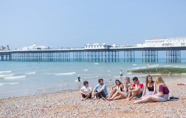Escuela de inglés Brighton, Inglaterra