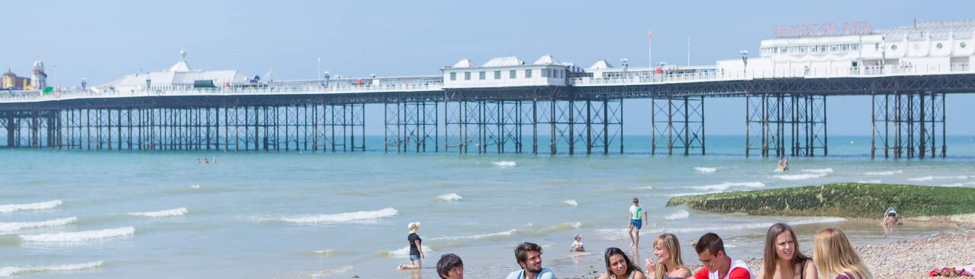 Programa de inglés para jóvenes en Brighton, Inglaterra